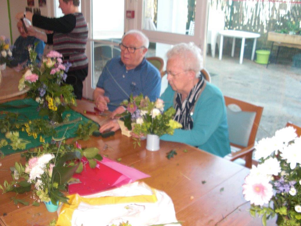 L'atelier d'art floral au Béguinage