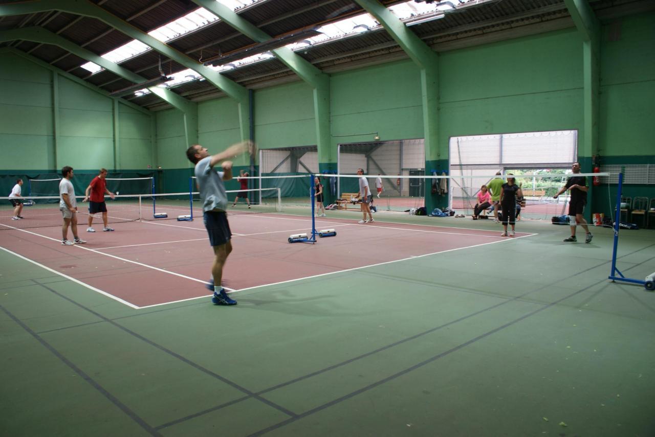 salle de badminton