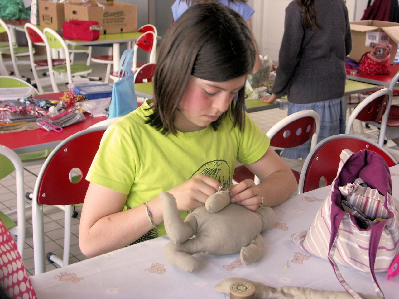 L'atelier couture enfant