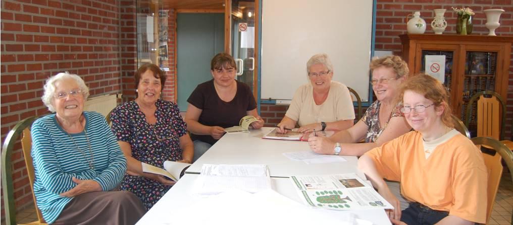 Le groupe des Dames qui font les recherches