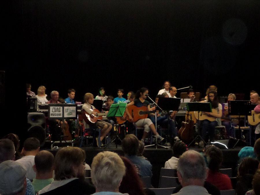 Concert des éléves 2015